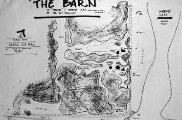 The Barn – Drawing