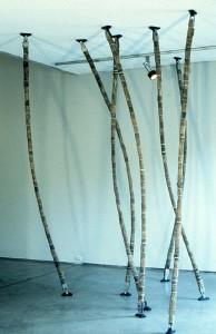 floor to ceiling sticks