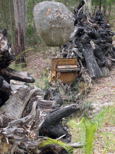 Nurra Bukulla Piano Sculpture