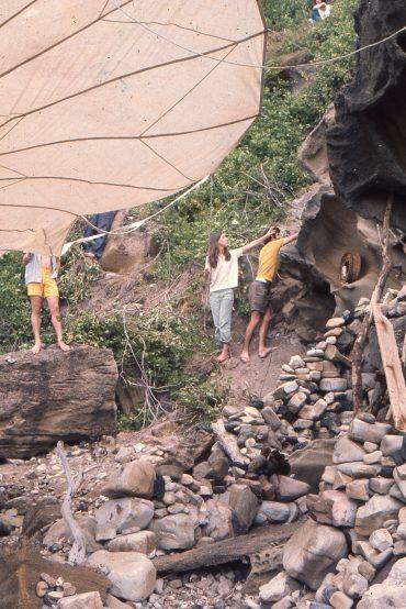 1965 – Environmental sculptue students at Penders